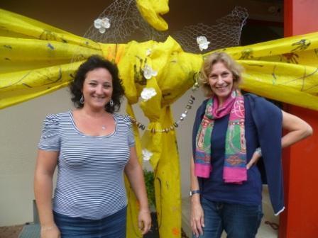 VinziLife-Leiterinnen Edina Görög-Nagy und Jolanda Kölbl freuen sich über ehrenamtliche Unterstützung (© VinziWerke)